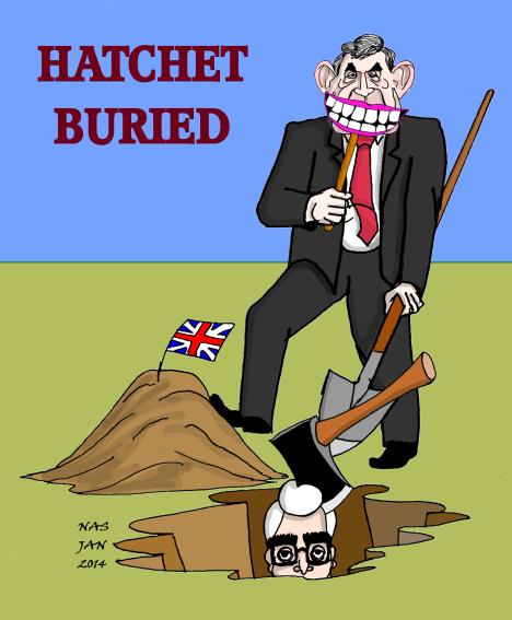 Hatchet Buried