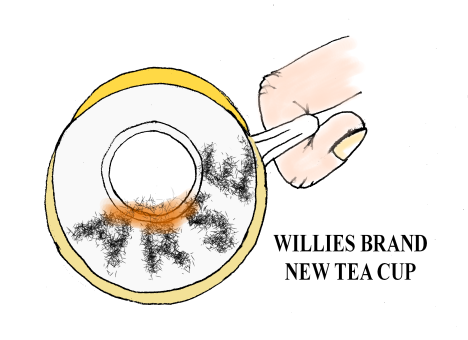 WILLIES TEA CUP