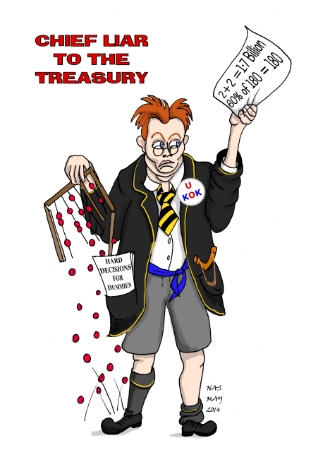 Danny Alexander chief liar