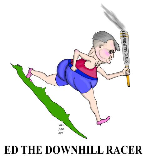 Ed downhill racer