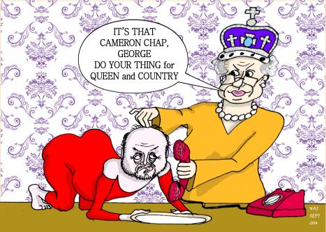 George Galloway Queen purrr